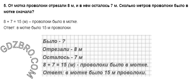 Ответ на странице 20 - 5 ГДЗ по Математике 3 класс Моро, Бантова, Бельтюкова, Часть 1, 2015 - ГДЗ с решением- 1>
