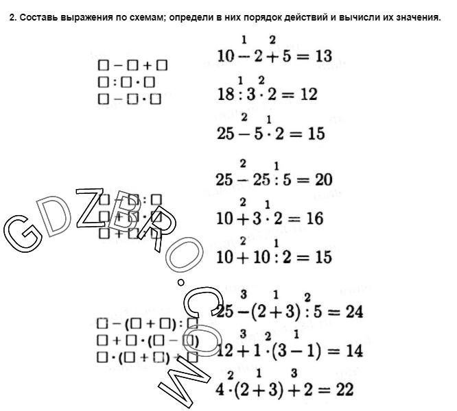 Ответ на странице 27 - 2 ГДЗ по Математике 3 класс Моро, Бантова, Бельтюкова, Часть 1, 2015 - ГДЗ с решением- 1>