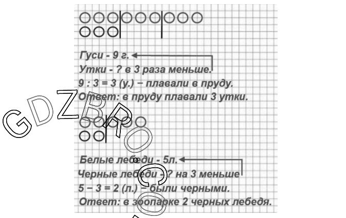 Ответ на странице 39 - 1 ГДЗ по Математике 3 класс Моро, Бантова, Бельтюкова, Часть 1, 2015 - ГДЗ с решением- 2>