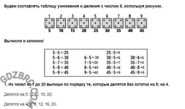Ответ на странице 40 - 1 ГДЗ по Математике 3 класс Моро, Бантова, Бельтюкова, Часть 1, 2015 - ГДЗ с решением- 1>