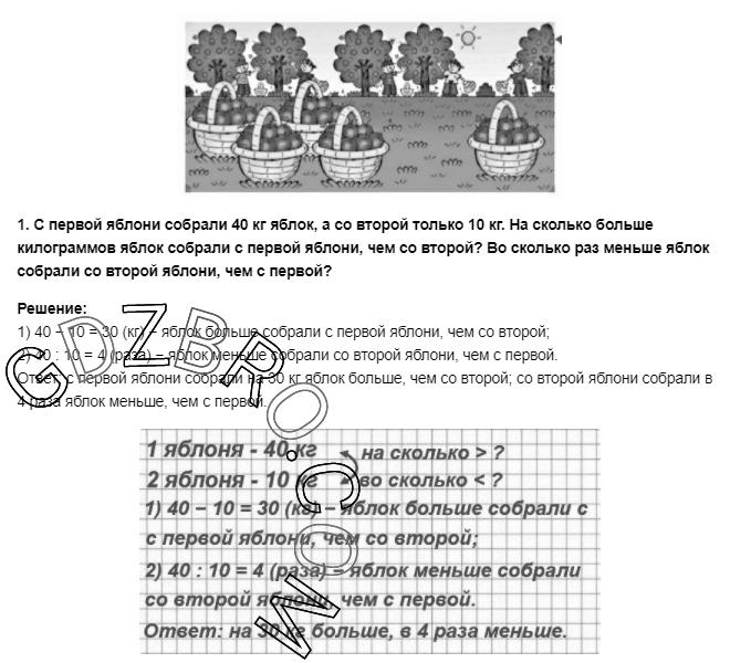 Ответ на странице 43 - 1 ГДЗ по Математике 3 класс Моро, Бантова, Бельтюкова, Часть 1, 2015 - ГДЗ с решением- 1>