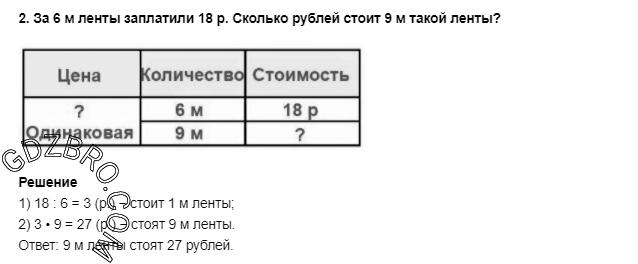 Ответ на странице 46 - 2 ГДЗ по Математике 3 класс Моро, Бантова, Бельтюкова, Часть 1, 2015 - ГДЗ с решением- 1>