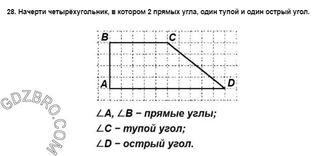 Ответ на странице 55 - 28 ГДЗ по Математике 3 класс Моро, Бантова, Бельтюкова, Часть 1, 2015 - ГДЗ с решением- 1>