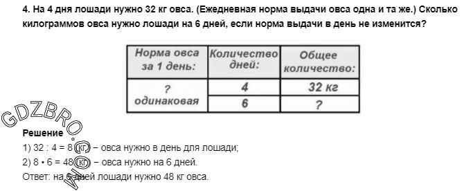 Ответ на странице 58 - 4 ГДЗ по Математике 3 класс Моро, Бантова, Бельтюкова, Часть 1, 2015 - ГДЗ с решением- 1>