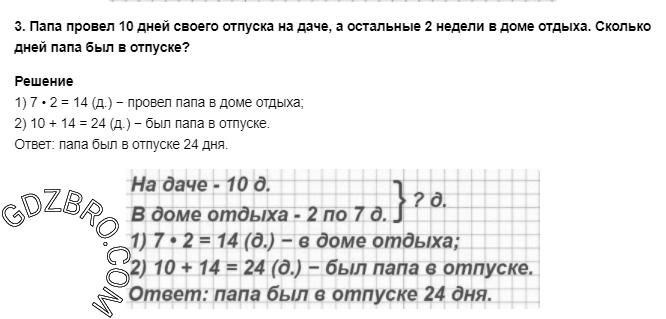 Ответ на странице 64 - 3 ГДЗ по Математике 3 класс Моро, Бантова, Бельтюкова, Часть 1, 2015 - ГДЗ с решением- 1>