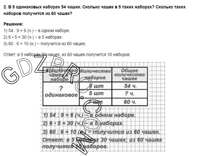 Ответ на странице 68 - 2 ГДЗ по Математике 3 класс Моро, Бантова, Бельтюкова, Часть 1, 2015 - ГДЗ с решением- 1>