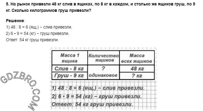 Ответ на странице 85 - 5 ГДЗ по Математике 3 класс Моро, Бантова, Бельтюкова, Часть 1, 2015 - ГДЗ с решением- 1>