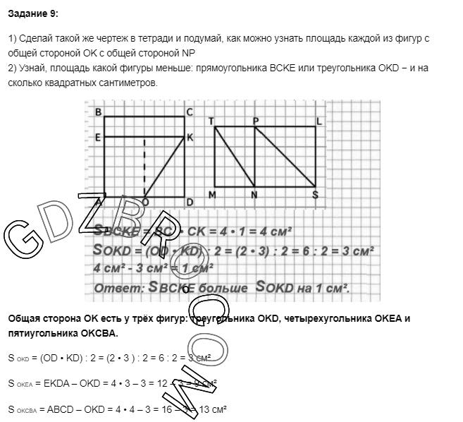 Ответ на странице 87 - 9 ГДЗ по Математике 3 класс Моро, Бантова, Бельтюкова, Часть 1, 2015 - ГДЗ с решением- 1>