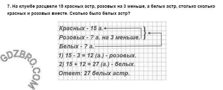 Ответ на странице 8 - 7 ГДЗ по Математике 3 класс Моро, Бантова, Бельтюкова, Часть 1, 2015 - ГДЗ с решением- 1>