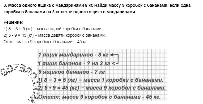 Ответ на странице 93 - 3 ГДЗ по Математике 3 класс Моро, Бантова, Бельтюкова, Часть 1, 2015 - ГДЗ с решением- 1>