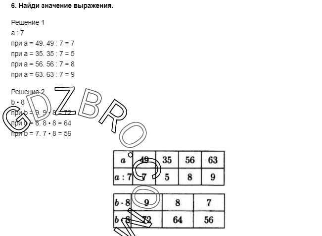 Ответ на странице 93 - 6 ГДЗ по Математике 3 класс Моро, Бантова, Бельтюкова, Часть 1, 2015 - ГДЗ с решением- 1>