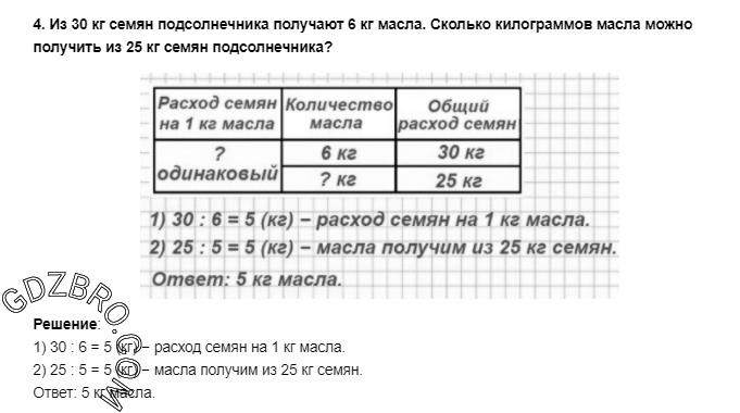 Ответ на странице 95 - 4 ГДЗ по Математике 3 класс Моро, Бантова, Бельтюкова, Часть 1, 2015 - ГДЗ с решением- 1>