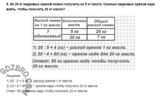 Ответ на странице 95 - 5 ГДЗ по Математике 3 класс Моро, Бантова, Бельтюкова, Часть 1, 2015 - ГДЗ с решением- 1>