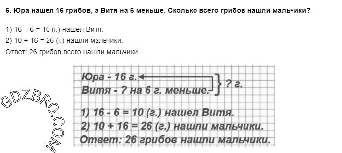 Ответ на странице 9 - 6 ГДЗ по Математике 3 класс Моро, Бантова, Бельтюкова, Часть 1, 2015 - ГДЗ с решением- 1>
